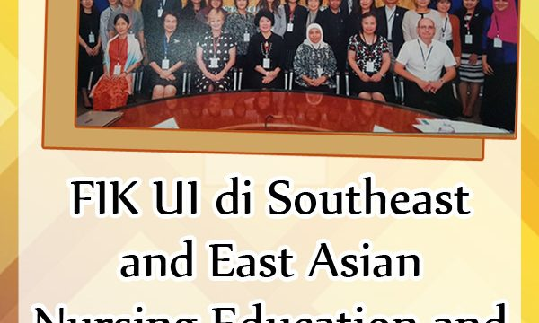 FIK UI di Southeast and East Asian Nursing Education and Research Network, Chiang Mai, Thailand