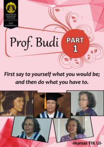 Prof Budi Part 1