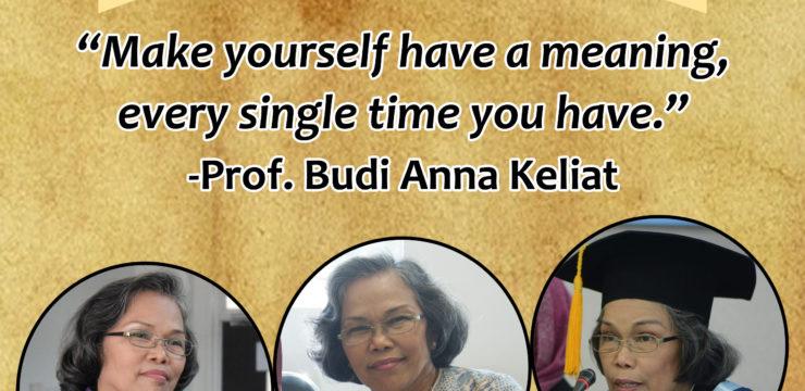 Mengenal Lebih Dekat Profesor Budi (Part 2)