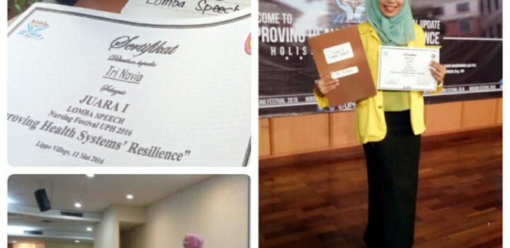 Mahasiswa FIK Juara 1 di Nursing Festival UPH