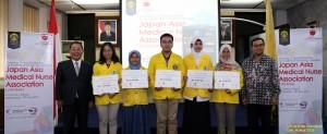 Dua Orang Mahasiswa FIK Menerima Beasiswa JAMNA