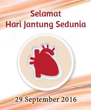 Hari Jantung Sedunia 2016