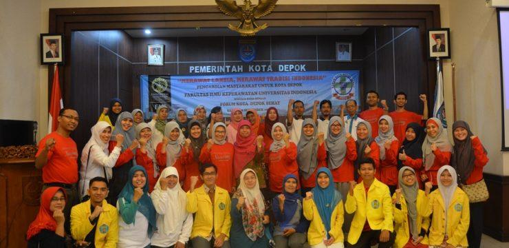 FIK UI Kerahkan Semua Departemennya dalam Kegiatan Pengabdian Masyakarat di Balaikota Depok
