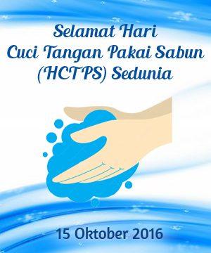 Hari Cuci Tangan Pakai Sabun Sedunia 2016