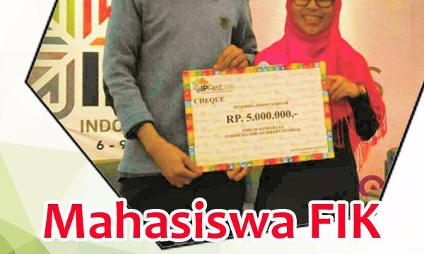 Mahasiswa FIK Raih Hibah Indonesia Philanthropist
