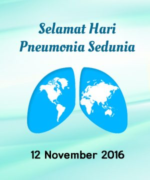 Hari Pneumonia Sedunia 2016