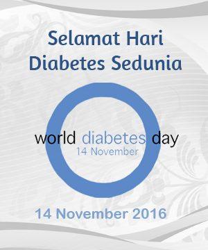Hari Diabetes Sedunia 2016