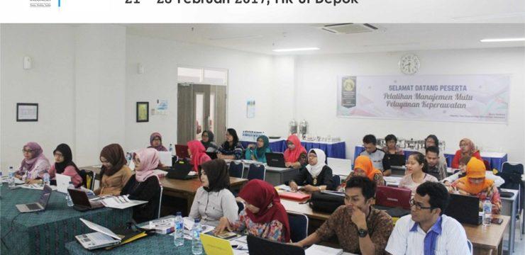 FIK UI Selenggarakan Pelatihan Manajemen Mutu Pelayanan Keperawatan