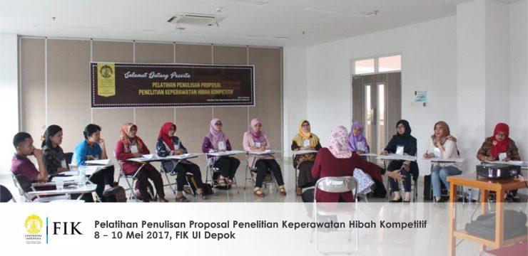 Pelatihan Penulisan Proposal Penelitian Keperawatan Hibah Kompetitif