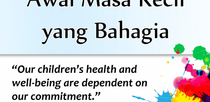 Kesehatan Anak Menjadi Awal Masa Kecil yang Bahagia