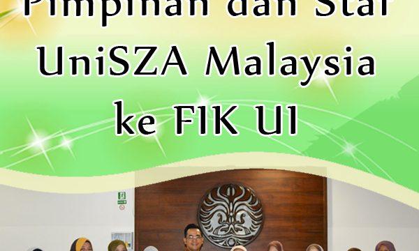 Kunjungan Pimpinan dan Staf UniSZA Malaysia ke FIK UI