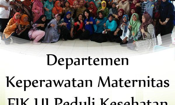 Departemen Keperawatan Maternitas FIK UI Peduli Kesehatan Perempuan Menopause