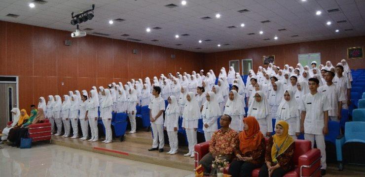 Pengucapan Janji Kepaniteraan S1 Keperawatan angkatan 2015 FIK UI
