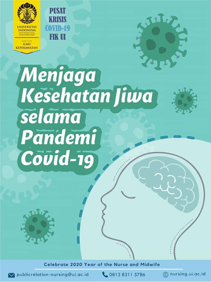 Menjaga Kesehatan Jiwa Selama Pandemi Covid 19 Fakultas Ilmu Keperawatan