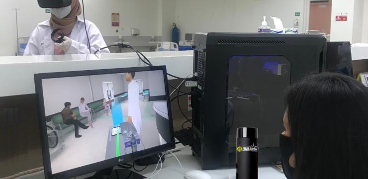 FIK UI Kembangkan Virtual Reality sebagai Solusi Praktikum di Masa Pandemi Covid-19 dan Masa Depan