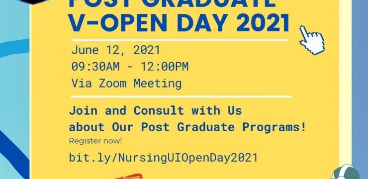 Nursing UI Post Graduate Virtual Open Day 2021