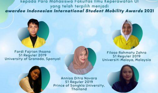 FIK UI Kirimkan Mahasiswa Terbaik untuk Mengikuti Program Beasiswa Indonesian International Student Mobility Award 2021